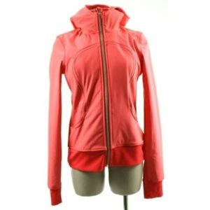 Lululemon Women's Hooded Zip Jacket Size M Pink